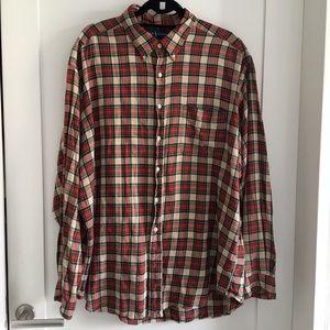 Ralph Lauren Men's Plaid Blake Shirt Size XXL